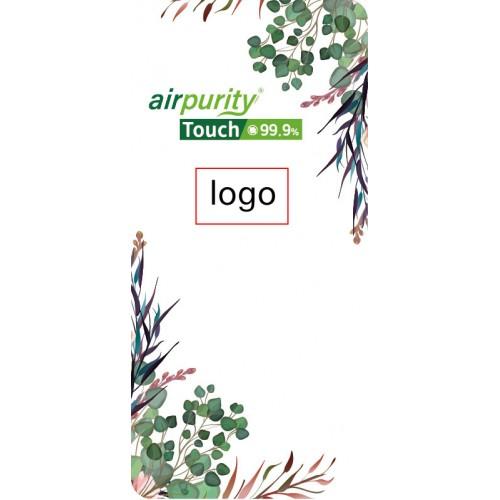 airpurity-touch 99.9%個性化防菌貼紙-手機貼